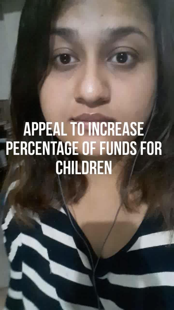 #nationspeaks #childrights #funds