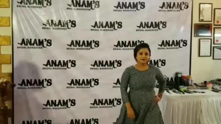 ANAM's BRIDAL MAKEOVER DAY 1 WORKSHOP #by #anamsiiddique
