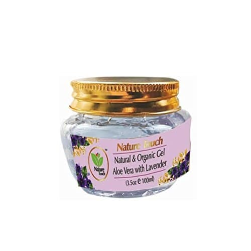 Nature Touch Presents Natural & Organic Gel Aloe Vera with Lavender (Aloevera gel, organic gel, natural aloevera gel,Lavender)    It is good for balancing and uplifting the skin. The gel has a soothing, calming, and healing effect on the skin. It is beneficial for a range of skin problems, including minor burns and wounds, insect bites, stings, acne, and sunburn.   buy Link- https://www.amazon.in/dp/B075DD11CR  #aloevera #gel