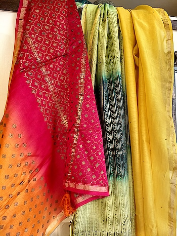 With the start of the New Year starts the festivals and India being a highly spiritual country festivals are the heart of people here. We believe in preparing for these celebrations beforehand and so #IndianAugust brings you a range of #handcrafted Dupattas & stoles which are not only full of colours but also rich with #Indiantextile crafts like weaving and hand embroidery. Choose your style and add an extra charm to your festival celebrations. #Dupattasandstole #buybanarsidupatta #Handwovendupatta #weddingshopping #Noidashopping #Indianclothing #Delhishopping #Ethnicwear #Indianethnicwear #Festivalfashion #stoles #shoponlineinIndia #bestindianshoppingwebsite #designerdupattas