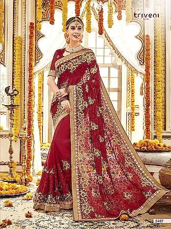 TRIVENI BANNORANI  #GEORGETTE #EMBROIDERED #WEDDINGWEAR  Contect for Order or More Info.: Whatsapp :+91 7874482383 Email: textilebazar456@gmail.com Email : bansi.textilebazar@gmail.com
