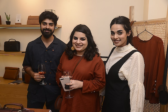 """"""" I love that cord works with breathable fabrics and earthy colours. Their new store is a perfect fit in the cobbled artsy world of kala ghoda."""" - #mallikadua"""