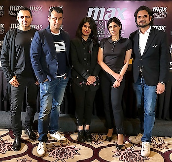 Jury meet at Taj Palace New Delhi, to select the top 15 student Designers, for The Max Design Awards 2017-18 for graduating fashion design students. Jury members: Designers, Rahul Misha, Rina Dhaka, Kamakshi Kaul (Max design team head) and Ashish Soni.
