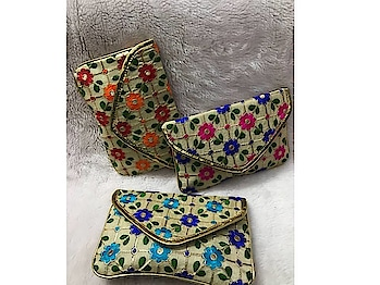 Craftstages International presents to you the exclusive ethnic embroidery fabric clutch (Only WHOLESALE) We can also Make, Customize,export & Import all style of Bags & Clutches with Quantity.#emboideryfabricclutch #indianmade #madeinindia #qualitybags #easytocarry #variationincolors #durable any Wholesale queries please call or whatsapp at +91-8882376001(ONLY WHOLESALE) or you can mail us at : craftstagesinternational@gmail.com