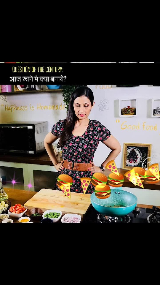 Do you get asked this question every day? Don't get confused, Main Hoon Na .. 🤷‍♀️ Get your answers.  💋💋💋 Love M. #ChefMeghna #WhyWorry #CookUp #IntelligentFood #Food #Foodies #FoodOptions #MainHoonNa