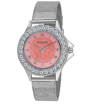 New style Pink Dial Analog watch for Women from the house of Tarido Watches .... For purchase just click on the link given here:-  http://amzn.to/2G0Y3xG #watches #menwatches #designerwatches #wristwatches #jhakkas #gabru #mood #cheers #indianblogger #bindaas #blogger #fashion #beauty #indian #model #love #bollywood #styles