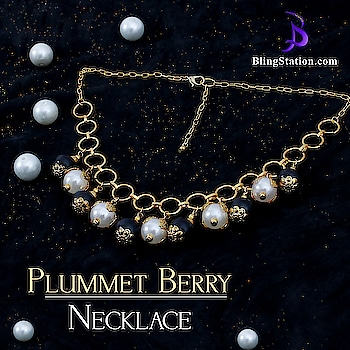 Irresistible black and white berries falling down the chain seems captivating, pick one ASAP.  #jewelry #jewels #shopping #lifestyle #offer #grabnow #shopnow #jewelstore #blingstation #earring  Shop now: http://bit.ly/2kAZf4l
