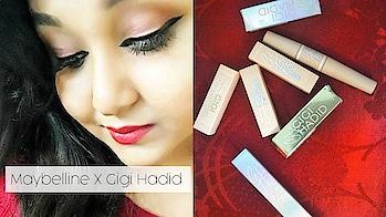 #soroposo #roposolove #gigihadid #maybelline #india #indianblogger    Maybelline X Gigi Hadid Collection In India | First Impression | Deblina Chakraborty