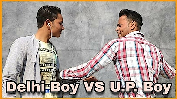 Delhi Boy VS U.P. Boy ||Hemant Parihar||New Video 2018   new video out #delhiboys #vs upboys  #hahatv #funny #videos