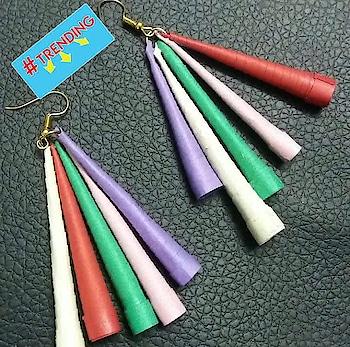 #craftyntrendy  #earrings  #handcraftedjewellery #trending