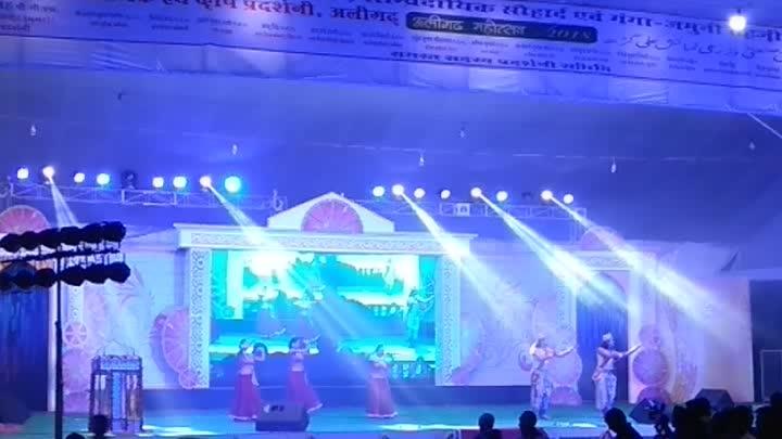#aligarh_numaish #mahotsav #maintain-indian-culture #dance