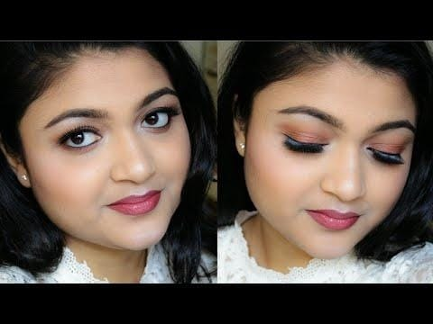 Makeup tutorial for FALL makeup look || copper halo eyes & ombre lips Go and subscribe the channel for more such videos, Do like, comment and share the video if you like it. #makeupgoals #tutorial #fallmakeup #eye-makeup