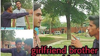 Girlfriend brother problem | good vs best friend's | Musavirzone #girlfriends  #boyfriend #fighting #vines #indian-festival #brothers