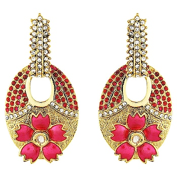 Designer Ethnic Bollywood Style Party Wear Earring Set from the house of Silveria ... For purchase just click on the link given here:-  http://amzn.to/2DvzV8D #earringset #womenaccessories #ornaments #jewelleries #earrings #jhumke  #letsnacho #jhakkas #queen #celebration #bindaas #followme #beauty #fashion #love #styles