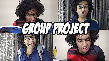 Group Project || Pintya and Anil See what happens when Pintya and Anil Do a group project together  #mondaymotivation #newton #panipat #indian #funnyvideo #watch #roposolove