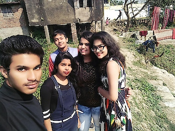 Enjoying with frnds on Saraswati puja #enjoy #saraswatipuja #food #frnds #cuteness #hotness #love #masti