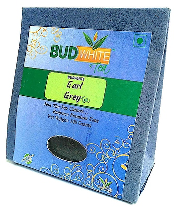 Budwhite Earl Grey Tea, 100g    Shelf life : 18 months from the date of manufacturing Organic tea leaves, Whole Leaf, Use 2 times, Second Flush, Only bud and two leaves, 100% Natural flavors   Buy Link- https://www.amazon.in/dp/B00XVIPYS6  #tea #greentea