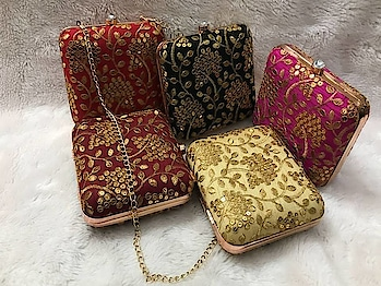 Craftstages International presents to you the exclusive ethnic embroidered fabric clutch with sling (Only WHOLESALE) We can also Make, Customize,export & Import all style of Bags & Clutches with Quantity.#ethnicclutch #indianmade #madeinindia #qualitybags #easytocarry #variationincolors #durable #embroideredfabricclutch #sling any Wholesale queries please call or whatsapp at +91-8882376001(ONLY WHOLESALE) or you can mail us at : craftstagesinternational@gmail.com