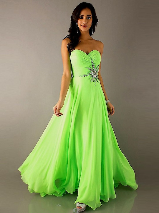 Ravishing Chiffon Off Shoulder Neon Green Flairy Gown  @@@ https://goo.gl/JWsiut  #mood #mondaymood #bae #trends #ootd #happy #sunglasses #indian #like #celebration #styles #photography #sundayfunday #blogger #soroposo #roposo #roposogal #followme #queen #bindaas #beats #bollywood #love #marathi #roposo-style #fashionblogger #fashion #beauty #model #soulfulquotes
