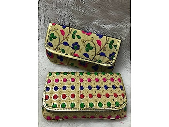 Craftstages International presents to you the exclusive ethnic embroidered fabric clutch (Only WHOLESALE) We can also Make, Customize,export & Import all style of Bags & Clutches with Quantity.#ethnicclutch #indianmade #madeinindia #qualitybags #easytocarry #variationincolors #durable #embroideredfabricclutch any Wholesale queries please call or whatsapp at +91-8882376001(ONLY WHOLESALE) or you can mail us at : craftstagesinternational@gmail.com