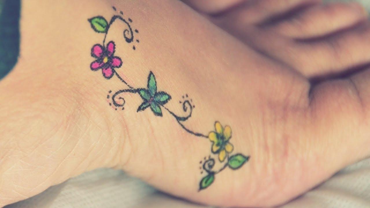 5 min me banaye body tatto|diy temporary colored tattoo/mehandi @ home|diy waterproof tattoo w/o pen  #kolkatafashionblogger #kolkata #kolkatablogger #westbengal #kolkata #kolkatayoutuber #youtubecreator