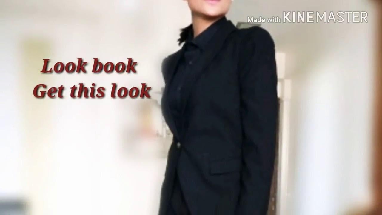 Power dressing look/look book/look 3/ formal look for women/ lataaInc