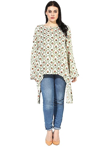 Designer Floral block print Tunic Women from the house of Qurvii USA. For purchase just click on the link given here:- http://amzn.to/2nBmrgP #dress #womendress #womentops #tunics #top#designertops #hellojanuary #jhakkas #mood #queen #indianblogger #bindaas #blogger #fashion #beauty #sunglasses #indian #model #love #bollywood #styles  #cape #womencape #designer #fashion #cute