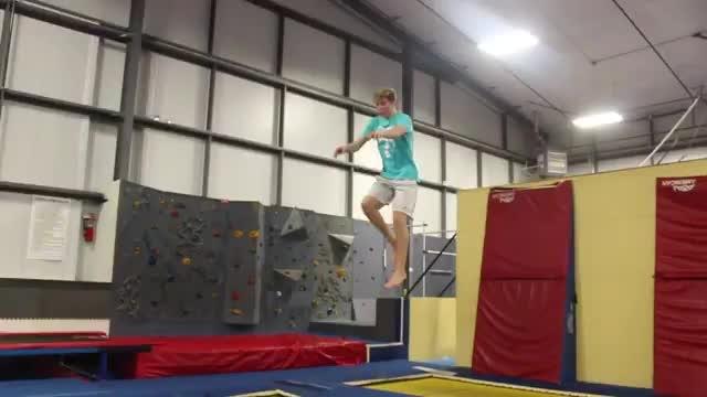 #tricking #tumbling #trampoline #gymnastics #freerunning #parkour #cheerleading #cheer #stunts #acrobatics #awesome #insane #wowtalent