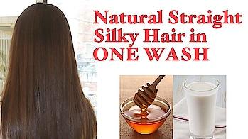 How to get Straight Silky Shiny Hair Naturally at Home? #homeremedies #homeremediesforhair #straighthair #silkyhair #naturalstraighthair #haircare #hair #hometreatment #diy #tutorialesvideos #youtubevideos #youtubeindia