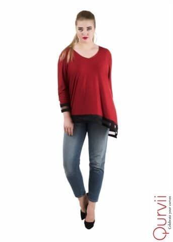 Mixed Media Top from the house of Qurvii USA. For purchase just click on the link given here:- http://amzn.to/2FJVteu #dress #womendress #womentops #tunics #top#designertops #hellojanuary #jhakkas #mood #queen #indianblogger #bindaas #blogger #fashion #beauty #sunglasses #indian #model #love #bollywood #styles  #cape #womencape #designer #fashion #cute