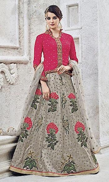 Magenta and Grey Heavy Embroidered Frock Suit  • Heavy Embroidered Frock Suit • Fabric : Banglori Silk • Salwar Fabric : Shantoon • Dupatta Fabric : Chiffon • Inner Fabric : Shantoon • Size : Semi-Stitched (customizable Upto size-44)  SKU: SUEBRSYB-S202 Rs. 6,799  #embroidered #suit  #holisaree #holisalwarkameez #holi #holidress #holioutfits #womenholi #holifun #holihai #holi2018 #happyholi #holicolors #holispecial #holifestival