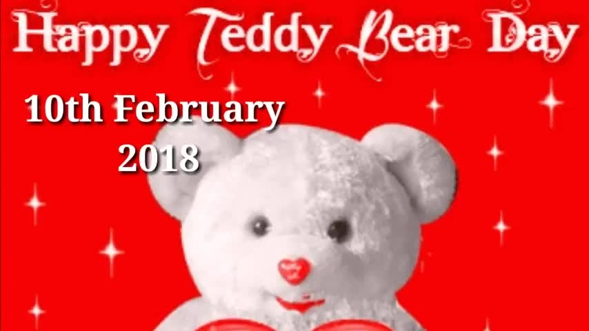 Happy Teddy day Whatsapp Status video| New Teddy day |What's up status video | Music Love, #teddyday2018