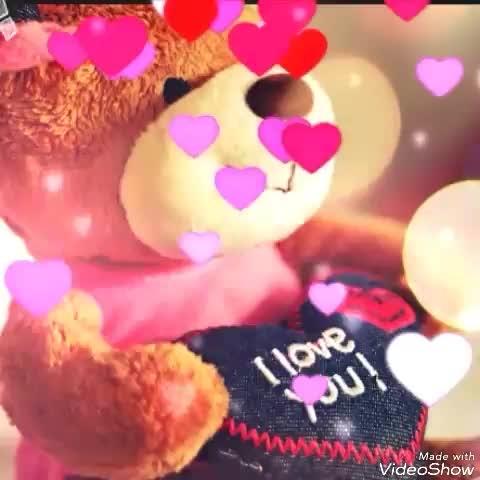 Happy Teddy Day || Teddy day Shayari || Teddy Day wishes || Teddy Day video (by the creative honey), #teddyday2018