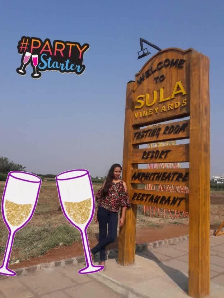 @Sula Vineyards 😄 #cheers #partystarter