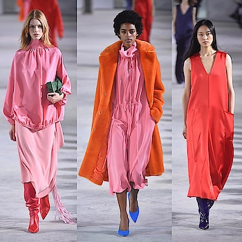 Colour Blocking at deisgner Tibi's show  @ the New York Fashion Week Ready to Wear FW1819 #parisfashionweek #fashionlover #fashionaddict #newyorkfashion #nyfw #trend #readytowear #fashiondesigner #fashion #catwalk #fashionphotography #instafashion #fashionblogger #fashionweek #style #stylish #topmodel #fashionlover #fashionoftheday #fashionforward #fw1819 #newyorkfw #rtw #ootd #fashionista @tibi #tibi