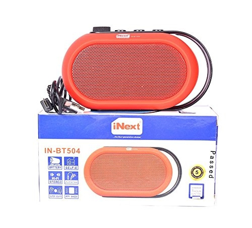 #bluetooth speaker  #bluetooth speakers #mobile speakers  #wirelessspeaker #bluetoothspeaker  #smartspeaker  #ipod #Stereospeaker   Title-Inext In-BT504 Red Bluetooth Stereo Speaker  Selling Price-699  Link- https://www.amazon.in/dp/B0789X7XXP