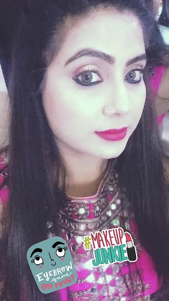#eye-makeup#makeup#ethniclook#fashion#soroposofashionista #eyebrowgameonpoint #makeupjunkie