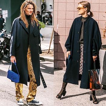 Street-style at New York Fashion Week 2018. #nyfw #nyfw2018 #streetstyle #winterfashion #fall2018