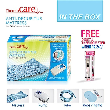 Thermocare Anti-Decubitus Mattress Air Pump And Bubble (Medical Equipment, Anti-Decubitus, Air Pump Decubitus)  #antidecubitus #health #painrelief #hospitalbed #mattress #medical #medicalinstruments #ilovewinters #letsnacho #bollywood #nature #makeup #hello2018 #trendy #beats #meadicalgear #indian #partystarter #roposo-style #roposotalenthunt #styles #photography #roposogal #love #roposolove #followme #roposo #ropo-love #mood #soroposo #newdp #roposoonair #jhakkas #beauty  *Price Rs. 1799 *Link https://www.amazon.in/dp/B078JS6H3R