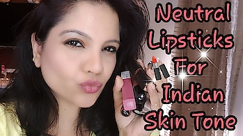 Hey! I am back!! missed ya'll.. 🤗 Check this video out in the meantime!   Top Everyday Wear Neutral Lipsticks for Indian Skin | Lipsticks for Office Wear #lipsticksforindianskin  #videooftheday  #indianyoutuber  #lipstickswatches #lipstickaddict #lipsticklove