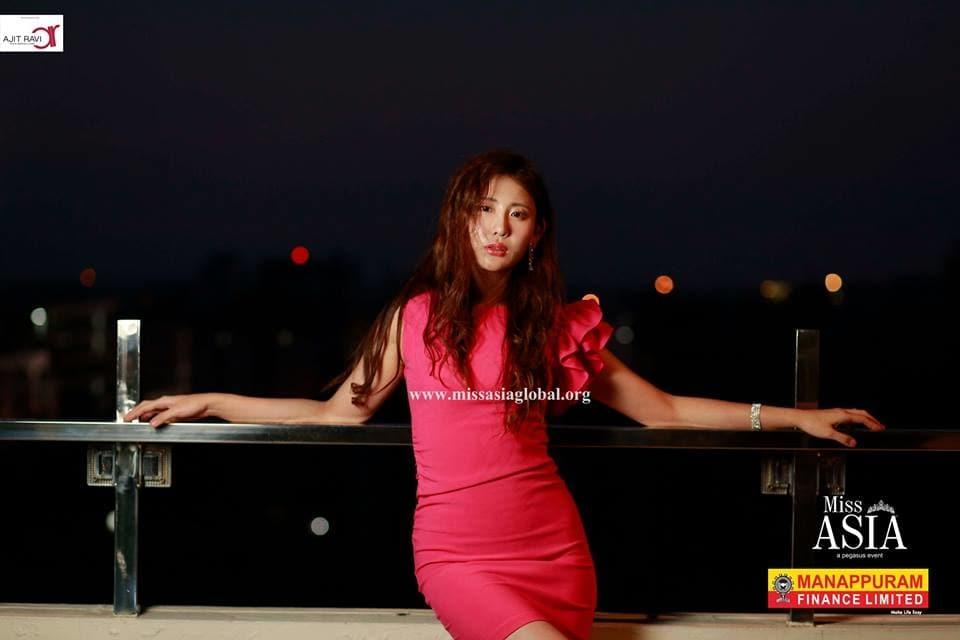 Dr.Ajit Ravi presents #Miss_Asia2K17 #Dr_AjitRavi_Pegasus_Event #Taeyeong_Kim #South_Korea  :) #Manappuram_Finance_Ltd #Manappuram_Miss_Asia  :) :)