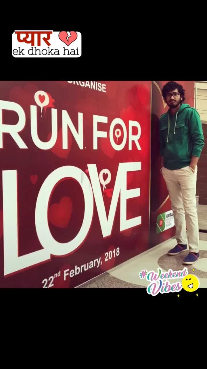 #runforlove #graphicdesign #designing #feelgood #mood #love #designedbyme #bigbanner #findforlove #designforlove #goodvibes #adorablekrishan #pyarekdhokhahai 🤘🏻🤘🏻 #weekendvibes #pyarekdhokahai