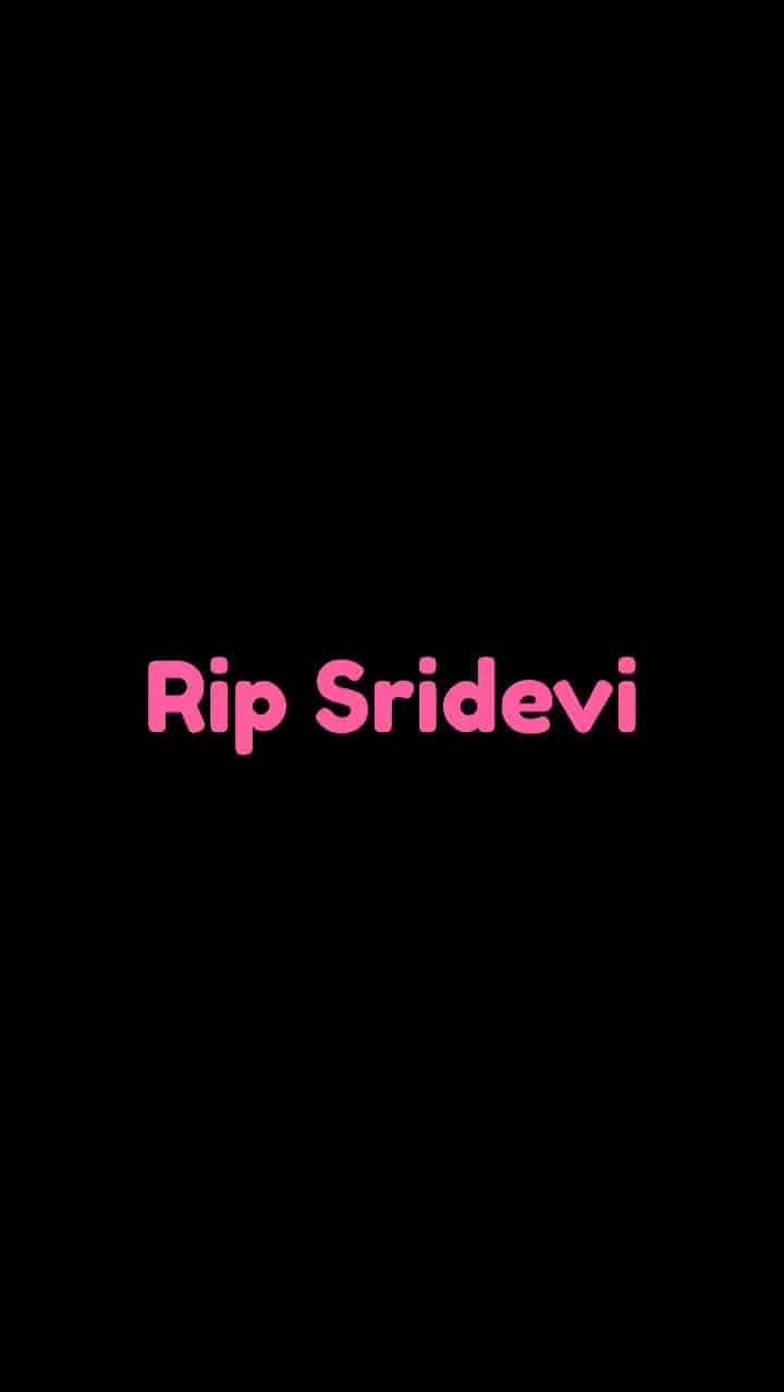 Devasted and deeply saddened by the shocking news of Sridevi Ji's passing...Sharing two of her songs with heartfelt remorse.She will be forever remembered. #gonebutneverforgotten #sridevi #latamangeshkar #sureshwadkar #sridevikapoor #ilayaraja