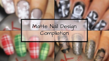 Matte Nail Art Compilation 2018 | Designyournailsbyisha Go watch it, show some love 💖 and dont forget to hit the Subscribe button 😌 . #designyournailsbyisha #ishanailart #nails #nailstoinspire #nailswag #youtuber #nailart #nailblogger #mattenails #nailartjunkie #naildesigns #tagsforlikes #nailartclub #nailsartm #nailitdaily #snowflakesnails #plaidnails #halloweennails #matteglitternails #roposonails #soroposo #roposofashion #roposoblogger #roposostyle #nailartcompilation