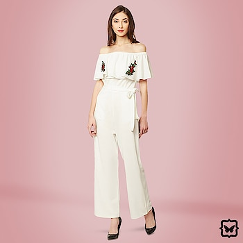 Fun & flirty! This one piece wonder is in the perfect colour for a fancy brunch- the embroidery adds the perfect glam factor.  Flow Like A Rose Jumpsuit!  Shop on http://bit.ly/2oyC6hg   #soroposo #onlineshopping #shopping #colour #shoppingtips #fashion #fashiontips #photooftheday #trendy #musthave #nowtrending #stylish #blogger #love #follow #fashionblogger #styleblogger #awesome #ootd #potd #ruffletop #winter #christmas #newyear #2018