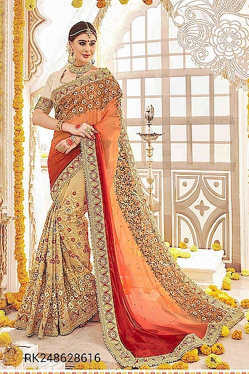 Category : Ethnic Wear Sub Category : Saree  Product : RK2486  #Sringaar #SringaarFashion #WE_DELIVER_WORLDWIDE  Whatsapp No : +91-9971331899 Contact us : +91-9212337921 Email - sales@sringaar.com  Visit Us at: http://www.sringaar.com  Facebook : https://www.facebook.com/SringaarOnline Instagram : https://www.instagram.com/sringaarfashion  * Fabric of Saree - Georgette * Length of Saree - 6.30 Mtr with Blouse Pc * Fabric of Blouse - Art Silk * Max. Bust Size Of Blouse- Upto 44 Inch * Work - Embroidery Work  #PreStitchedSarees #OnlineSareeShopping #OnlineSaree #NewSareeBlouseDesigns #MulticolorSaree #LatestSareeTrends #IndianSareesOnSale #IndianSareesOnline #IndianSareesForSale #IndianSarees #IndianSaree #IndianLehengaSarees #IndianInSaree #IndianDesignerSaree #HeavyEmbroideredSaree #DesignerWearSarees