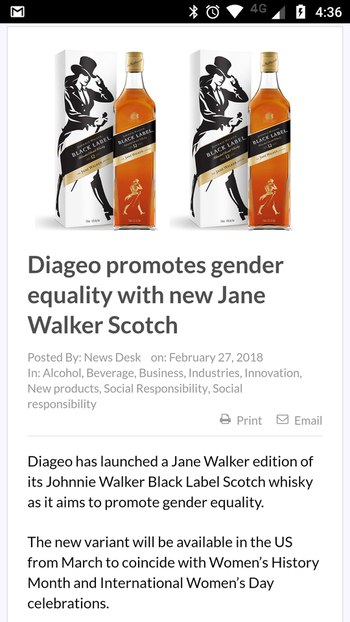 That is an interesting piece of news. #janewalker #genderequality