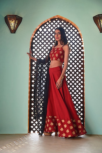 Grab our latest edit of Indya styles to stand out in the crowd  SHOP Maxi Skirt - https://goo.gl/A26bRU  Oxblood Embroidered Border Silk Maxi Skirt ₹ 3400  @fab_alley   #faballey #women-clothing #dress #roposo #fashion-addict #Indya #wedding-wear #wedding #clothes #loveyourself #Maxi-Skirt #beauty #styles #Embroidered #love #followme #styles #like #fashion #celebration #trending #Oxblood #Silk-Border #fashion-forward #Skirt
