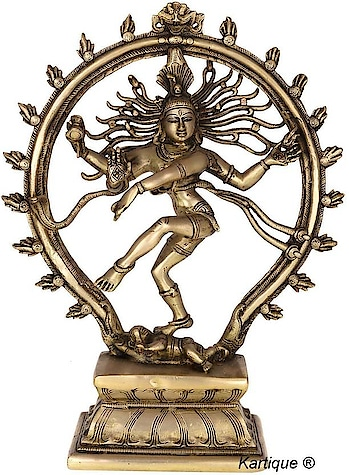 Artvarko Brass Murti | Idol | Natraj Showpiece - 24 cm  (Brass, Gold)  #Idol #murti #brassIdol #artvarko #pray #inspiration #ganesha #shiv #buddha  #music #be-fashionable #winter #bollywood #makeup #indian  #blogger #photography #ilovewinters #ropo-love #beats #ropo-style #roposo-style #model #followme #beauty #fashion #roposo #swagseswagat #ropo-good #ootd #roposogal #love #soroposo #firstpost  *Price Rs. 2800 *Link https://www.flipkart.com/artvarko-brass-murti-idol-natraj-showpiece-24-cm/p/itmffcxg3w2jxqde?pid=SHIFFC4JXYAR6AFB