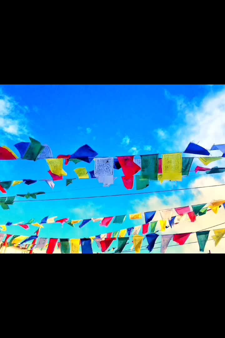 Work out your own salvation. Do not depend on others. - Buddha  Prayer flags,dancing away in the wind.  #landour #prayerflags #peace #sky #prayer #mussorie #dehradun #lookup #travelblogger #travelogue #bluesky #wanderlustgirl #mypixeldiary #beautifuldestinations #quote #roposo-good #roposomoments #roposopic #roposotimes #soroposoblogger #soroposoblog #soroposodaily #soroposolove